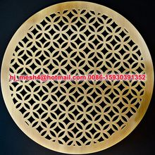 brass perforated sheet Factory