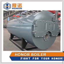 2015 Hot Sales of Horizontal 3-Pass Fire Tube Oil/ Gas Fired Steam Boiler Price