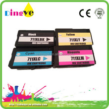 Printer consumables compatible T120 ink cartridge for HP 711