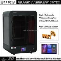 Best Createbot 3d printer cuanto cuesta una impresora 3d christmas gift factory 3d metal printer for sale