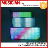2015 new product Pulse 360 Degree Colorful LED Lights Wireless Bluetooth Speaker