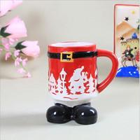 Factory direct sale cartoon series Christmas ceramic cup milk mug