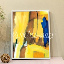100% Cotton painting Stretched Frame Canvas