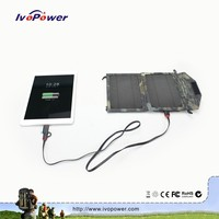 Mini new product mobile solar charger monocrystalline solar panel rollable solar panel