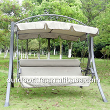 Promotional outdoor hanging swing chair, garden swing chairs manufacturers