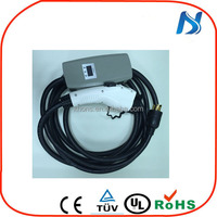 New type electric car connectors portable EVSE EV charger for industry