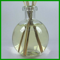 wholesale 278ml ball shape clear empty aroma reed diffuser glass bottle