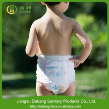 New design High absorbtion flushable diaper liners