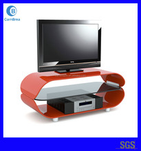 2015 Best quality LCD LED Plasma tempered glass TV stand