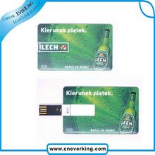 2015 High-speed credit card model USB Memory Stick Flash Drive 2GB 4GB 8GB 16GB 32GB