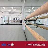 pvc ballet dance hall vinyl flooring