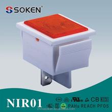 Soken interruptor LED / de neón t85 equipo luz indicadora para maquinaria de alimentos