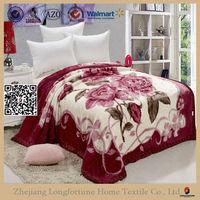 Home textile China supplier 100% polyester dubai mink blanket