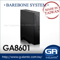 Small Form Factor barebone pc case of POS System, KIOSK and Digital Signage GA8601