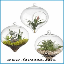 NEW!!!make it christmas ornaments , glass flower ball
