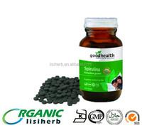 2015 spirulina season low price food grade dietary supplement organic Spirulina tablets