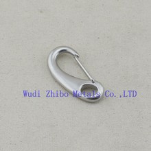 Cheap sale Stainless Steel Egg Shaped Snap Hook made in china