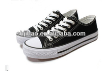 Cheap Price Wholesale Retail Canvas Shoes Welcome Costomized
