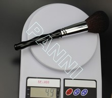 Contemporary export goat hair flat and fat powder brushes