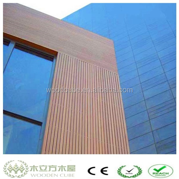 Wood Plastic Composite Wall Panel : Plastic wood composite wall panel wpc cladding outdoor