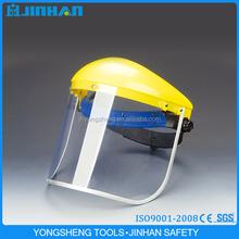 JINHAN brand transparent pvc face shield visor,protective face shield, PC face shield