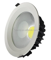 High bright 4 Inch 5 Inch 6Inch 8Inch led ceiling new led ceiling light led recessed downlight steel