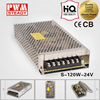 switching power adaptor 24v 120w s-120 switching supply led strip driver