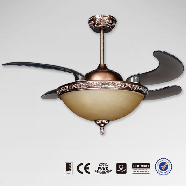 European Style New Model Retractable Ceiling Fan Buy Fan