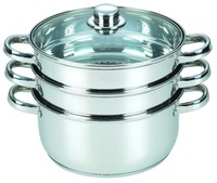 best stainles steel indian cookware with 3 layers industrial electric steamer