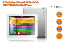 9.7inch mid tablet pc with 3G phone call function