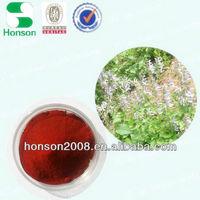 plant raw material danshen extract powder hplc from salvia miltorrhiza bge for pharmacy