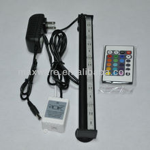 Glass T5/T8 tube multi color underwater aquarium light led