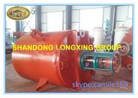 industrial horizontal chemical mixing reactors