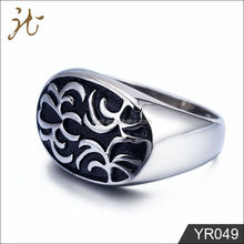 2012 fashion new style popular size stainless steel rings