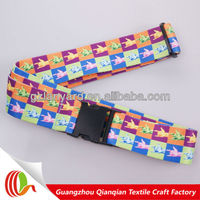 Personalized promotion luggage scale belt