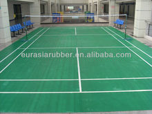 Sports Court Badminton PVC Flooring
