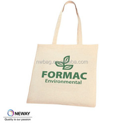Natural Shopping Cute cotton tote bag with long handles