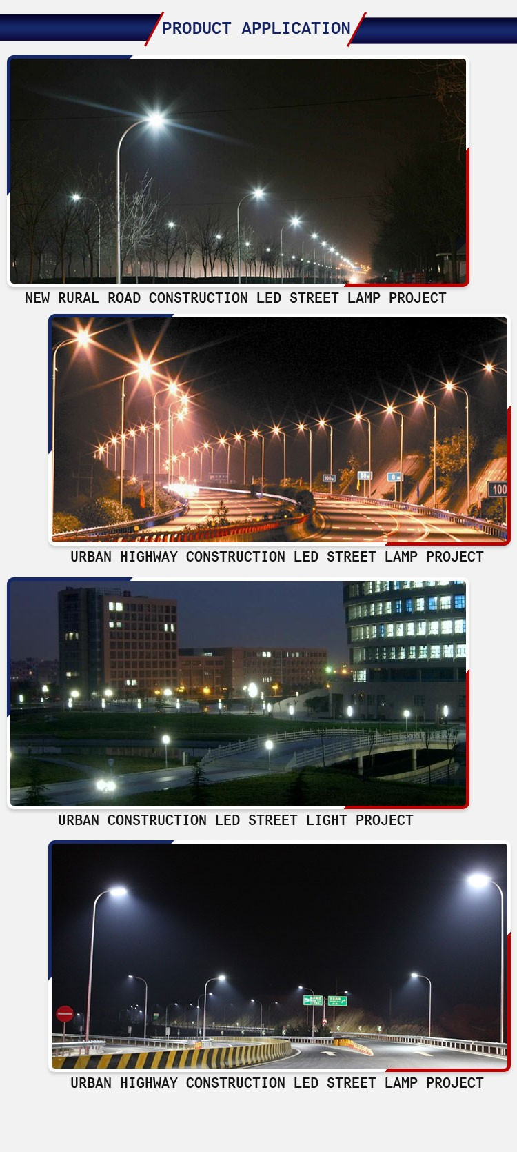 Low price LED Street Light 120w with 50% intelligent energy saving