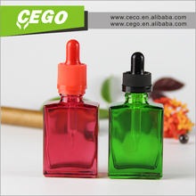 wholesale 30ml black glass tea infuser bottle wide mouth glass bottle 30ml 50ml 100ml for eliquid