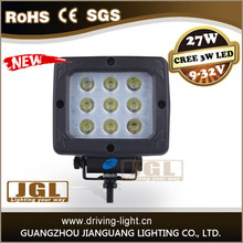 offroad 4x4 accessories cree led work light 12v 27w spot led worklight