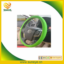 3-Spoke Wheel Type and silicone,100% Non-toxic silicone Material car steering wheel cover