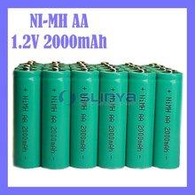 Wholesale NIMH Battery 2000mAh 1.2V Rechargeable Battery