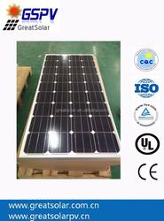 Lower Price Per Watt! Mono Solar Panel 130W, pv Solar Module, High Efficiency in China