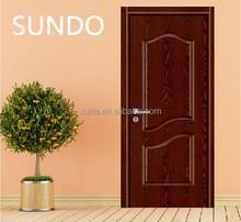 El último diseño de madera melamina melamina dormitorio decorativo puerta