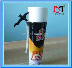 750ml 750g family use U5-type expanding polyurethane foam sealant, fill gaps and crack, polyurethane foam
