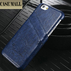 CaseMall leather back cover case for iphone 6 5 colors in stock now
