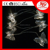 new designed light battery hollow out butterfly controlled string light new led string light