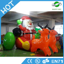 Best price inflatable cook moving cartoon, inflatable christmas cartoons,funny christmas cartoons