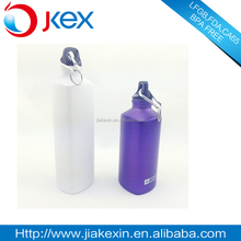 FDA Approved small mouth triangle aluminum sports drinking bottle