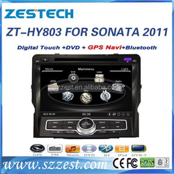 ZESTECH 8'' HD touch screen car radio Automotive 2 din OEM for hyundai sonata digital touch screen car radio